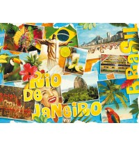 Schmidt Spiele - Puzzle - Rio de Janeiro, 3000 Teile
