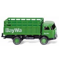 Wiking - Gitteraufbau-Lkw MB LP 321 BayWa