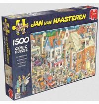 Jumbo Spiele - Jan van Haarsteren - Die Baustelle, 1500 Teile