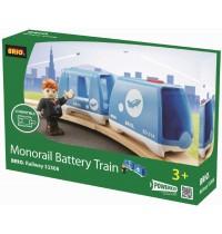 BRIO Bahn - Monorail Shuttlezug (batteriebetrieben)