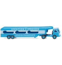 Wiking - Autotransporter MB Pullman Spedition E. Strasser