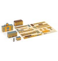 Wiking - Historischer Gebäudebogen zum Straßenplan