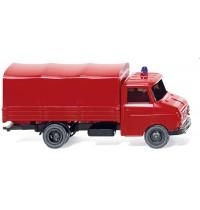 Wiking - Feuerwehr - Pritschen-Lkw Opel Blitz