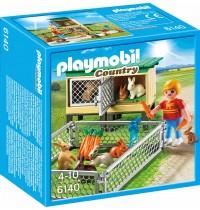 Playmobil® 6140 - Country - Bauernhof: Hasenstall mit Freigehege