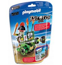 Playmobil® 6162 - Pirates - Grüne App-Kanone mit Piratenkapitän