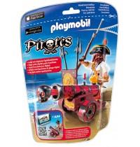 Playmobil® 6163 - Pirates - Rote App-Kanone mit Freibeuter