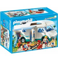 Playmobil® 6671 - Summer Fun - Aquapark: Familien-Wohnmobil