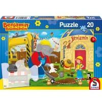 Schmidt Spiele - Puzzle - Auf der Baustelle, 20 Teile