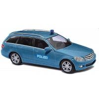 Busch Automodell - Mercedes-Benz C-Kl. T-Modell Polizei-Zivilfahrzeug