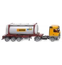 Wiking - Tankcontainersattelzug Swap MB Actros Bertschi