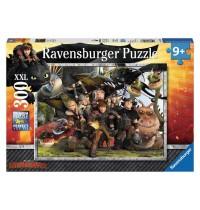 Ravensburger Puzzle - Treue Freunde, 300 XXL-Teile