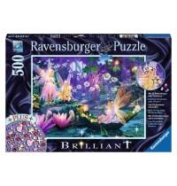 Ravensburger Puzzle - Brilliant Puzzle - Im Feenwald, 500 Teile