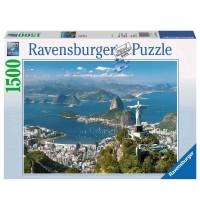 Ravensburger Puzzle - Blick auf Rio, 1500 Teile