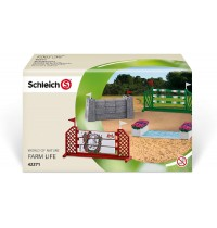 Schleich - World of Nature - Farm Life - Zubehör - Springparcours