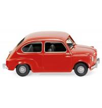 Wiking - Fiat 600, rot
