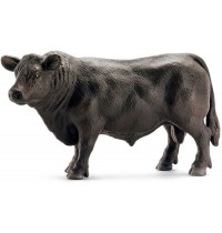 Schleich - World of Nature - Farm Life - Bauernhoftiere - Black Angus Bulle