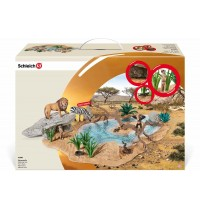Schleich - World of Nature - Wild Life - Playsets - Wasserstelle