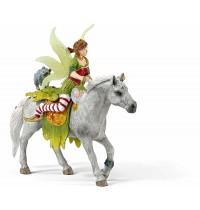 Schleich - World of Fantasy - Bayala - Elfen - Marween in festlicher Kleidung, reitend