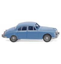 Wiking - Jaguar Mk II, blau