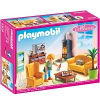 Playmobil® 5308 - Dollhouse - Wohnzimmer mit Kaminofen