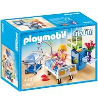 Playmobil® 6660 - City Life - Krankenzimmer mit Babybett
