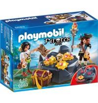 Playmobil® 6683 - Pirates - Piraten-Schatzversteck