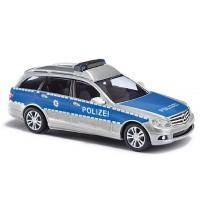 Busch Automodelle - MB C-Klasse T Polizei-Baden-Württemberg