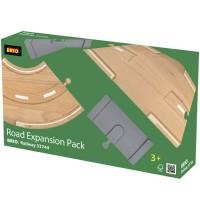 BRIO Bahn - Straßen-Erweiterungs-Set