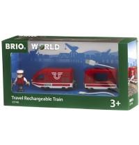 BRIO Bahn - Roter Akku-Reisezug