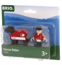 BRIO Bahn - Pferd mit Reiter