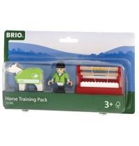 BRIO Bahn - Pferde-Parcour, 7tlg