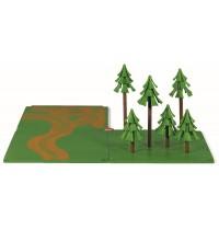SIKU World - Zubehör Feldwege und Wald