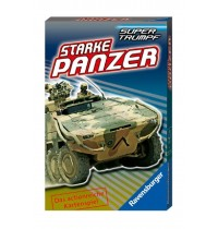 Ravensburger Spiel - Supertrumpf Quartett Starke Panzer