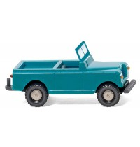 Wiking - Land Rover helltürkis/cremebeige