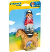 Playmobil® 6973 - 1 2 3 Playmobil® - Reiterin mit Pferd