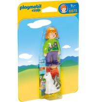 Playmobil® 6975 - 1 2 3 Playmobil® - Frau mit Katze