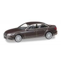 Herpa - Audi A4  Limousine, argusbraun metallic