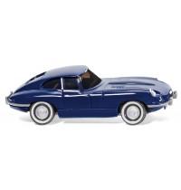 Wiking - Jaguar E-Type Coupé - dunkelblaumetallic lackiert