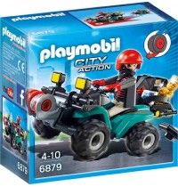 Playmobil® 6879 - City Action - Ganoven-Quad mit Seilwinde
