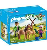 Playmobil® 6949 - Country - Ponymama mit Fohlen