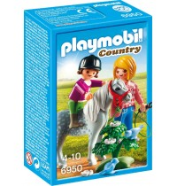 Playmobil® 6950 - Country - Spaziergang mit Pony