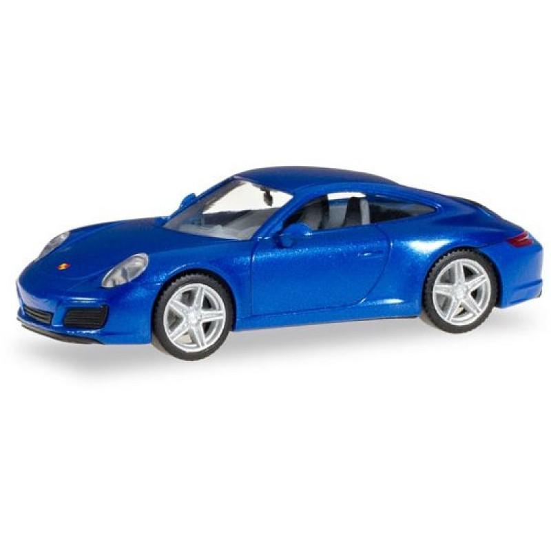 Herpa - Porsche 911 Carrera 2 Coupé, saphierblau metallic