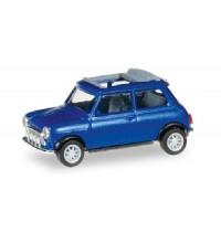 Herpa - Mini Cooper, blaumetallic (Mit Rolldach und Zusatzscheinwerfern)