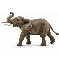 Schleich - World of Nature - Wild Life - Afrika - Afrikanischer Elefantenbulle