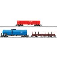 Märklin - Wagen-Set Moderner Güterverkehr H0 VI DB AG