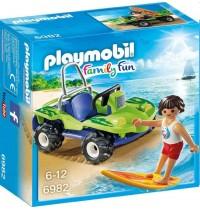 Playmobil® 6982 - Family Fun - Surfer mit Strandbuggy