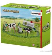 Schleich - World of Nature - Farm Life - Kuhfamilie auf der Weide