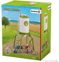 Schleich - World of Nature - Farm Life - Futtersilo mit Tieren