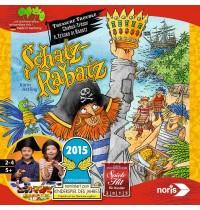 Noris Spiele - Holzkistenspiel - Schatz-Rabatz
