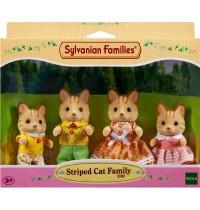 Sylvanian Families - Tigerkatzen: Familie Fauch-Fauch